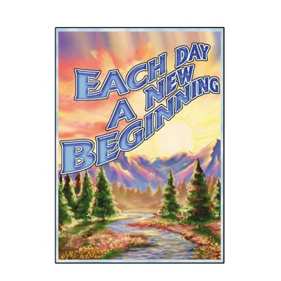 Each Day a New Beginning Ash Tee