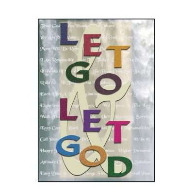 Let Go Let God Greeting Card