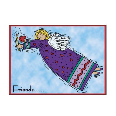 Angel Friends Greeting Card