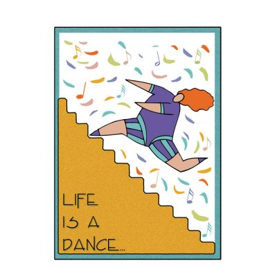 Life's a Dance Greeting Card