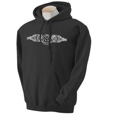 Tribal Flare Symbol Hoodie