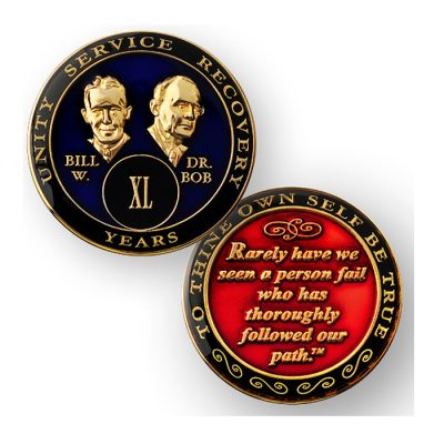 Tri-Plate Medallion – Bill & Bob