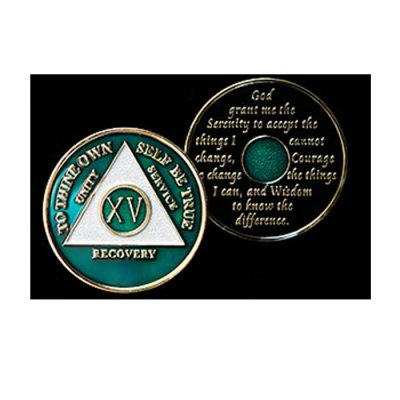 Tri-Plate Medallion – Emerald Green