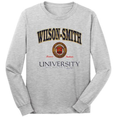 Wilson Smith University Long Sleeve Tee
