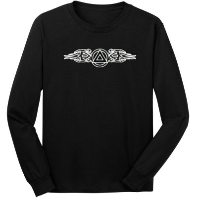 Tribal Flare Symbol Long Sleeve Tee