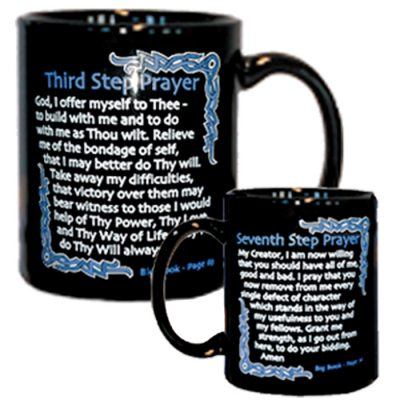3rd And 7th Step Prayer Mug