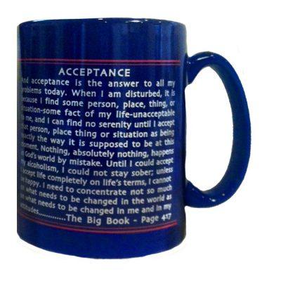 Acceptance Is The Key Coffee Mug