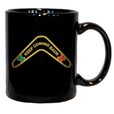 Boomerang Coffee Mug