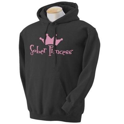 Sober Princess Hoodie-Black