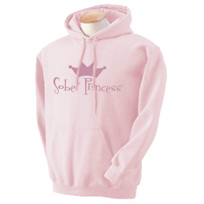 Sober Princess Hoodie-Pink