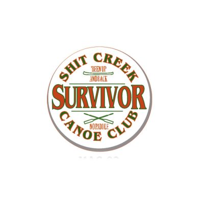 Canoe Club Survivor Magnet