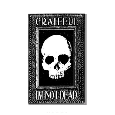Grateful I'm Not Dead Magnet