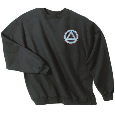 Service Symbol Black Sweatshirt