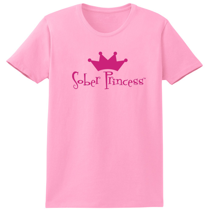 Sober Princess Pink Tee