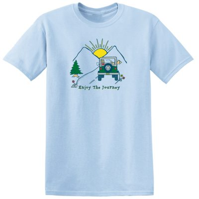 Enjoy the Journey Blue Tee