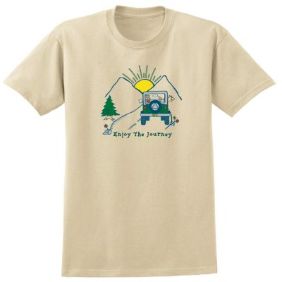 Enjoy the Journey Tan Tee
