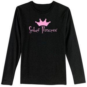 L/S Sober Princess BLK 1