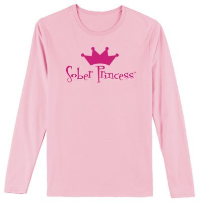 Sober Princess Pink Long Sleeve Tee