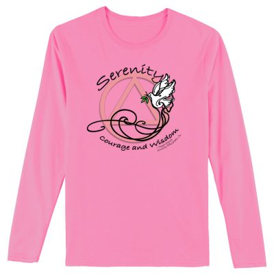 Serenity Courage Wisdom Long Sleeve Tee