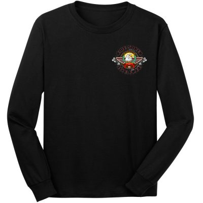 New! Ride Sober Long Sleeve Tee