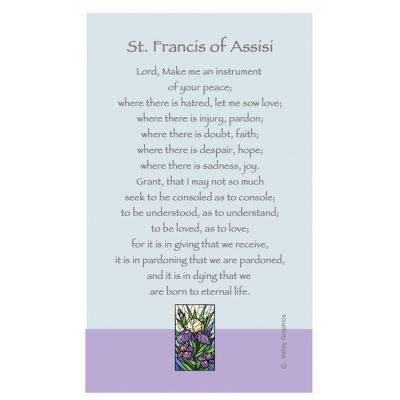St. Francis Prayer Magnet