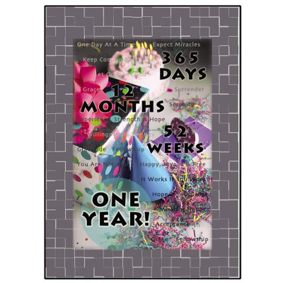 New! One Year Card