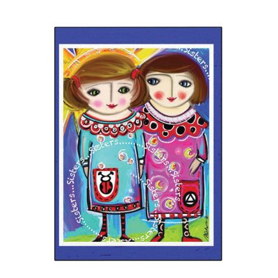 New! Sisters Greeting Card