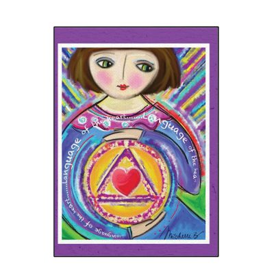 New! Language of the Heart Greeting Card