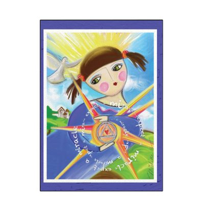 New! Expect A Miracle Greeting Card