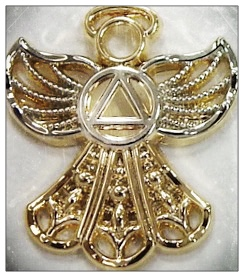 Angel Symbol Lapel Pin
