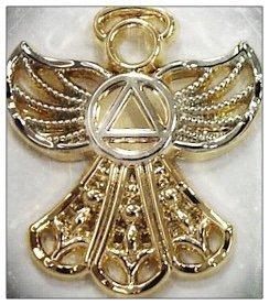 Angel Symbol Lapel Pin