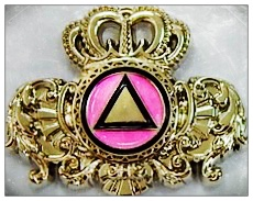 Crown Symbol Lapel Pin