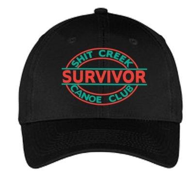 Canoe Club Survivor Hat-Black