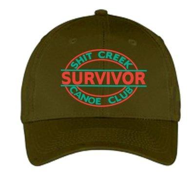 Canoe Club Survivor Olive Hat