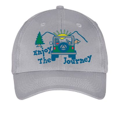 Enjoy The Journey Hat-Grey