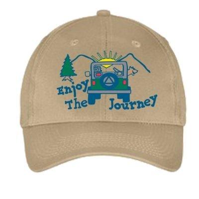 Enjoy The Journey Hat-Tan