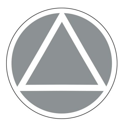 New! Service Symbol AA Silver Sticker
