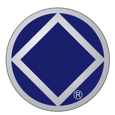 New! Service Symbol NA Blue/Chrome Sticker
