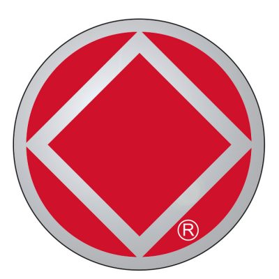 New! Service Symbol NA Red/Chrome Sticker