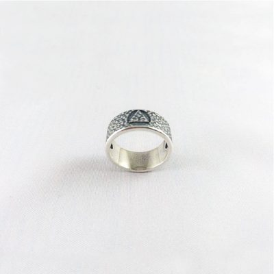 Hammered Look Ring