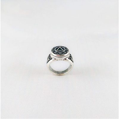 Fancy Scroll Ring