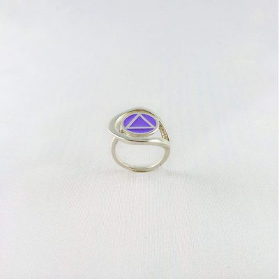 Swirl Ring with Fill
