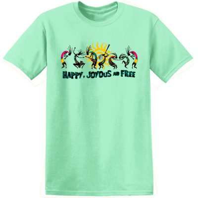 New! Happy Joyous & Free Tee