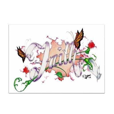New! Faith Card
