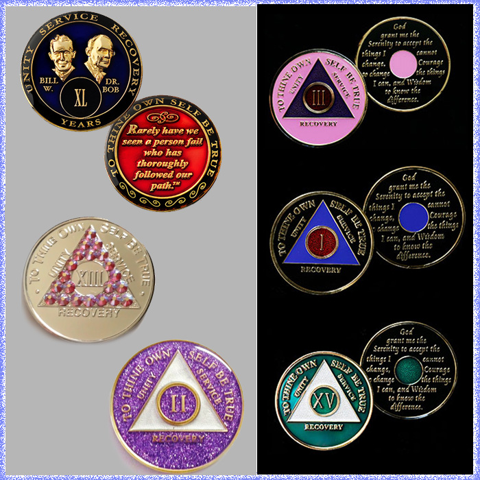 recovery medallions