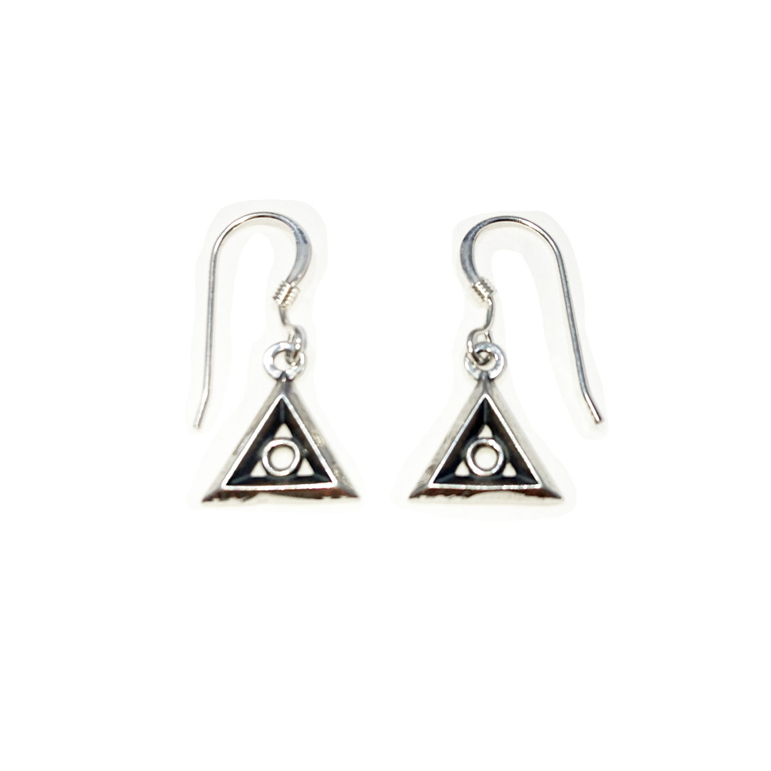 Family Recovery Symbol Smooth Earrings