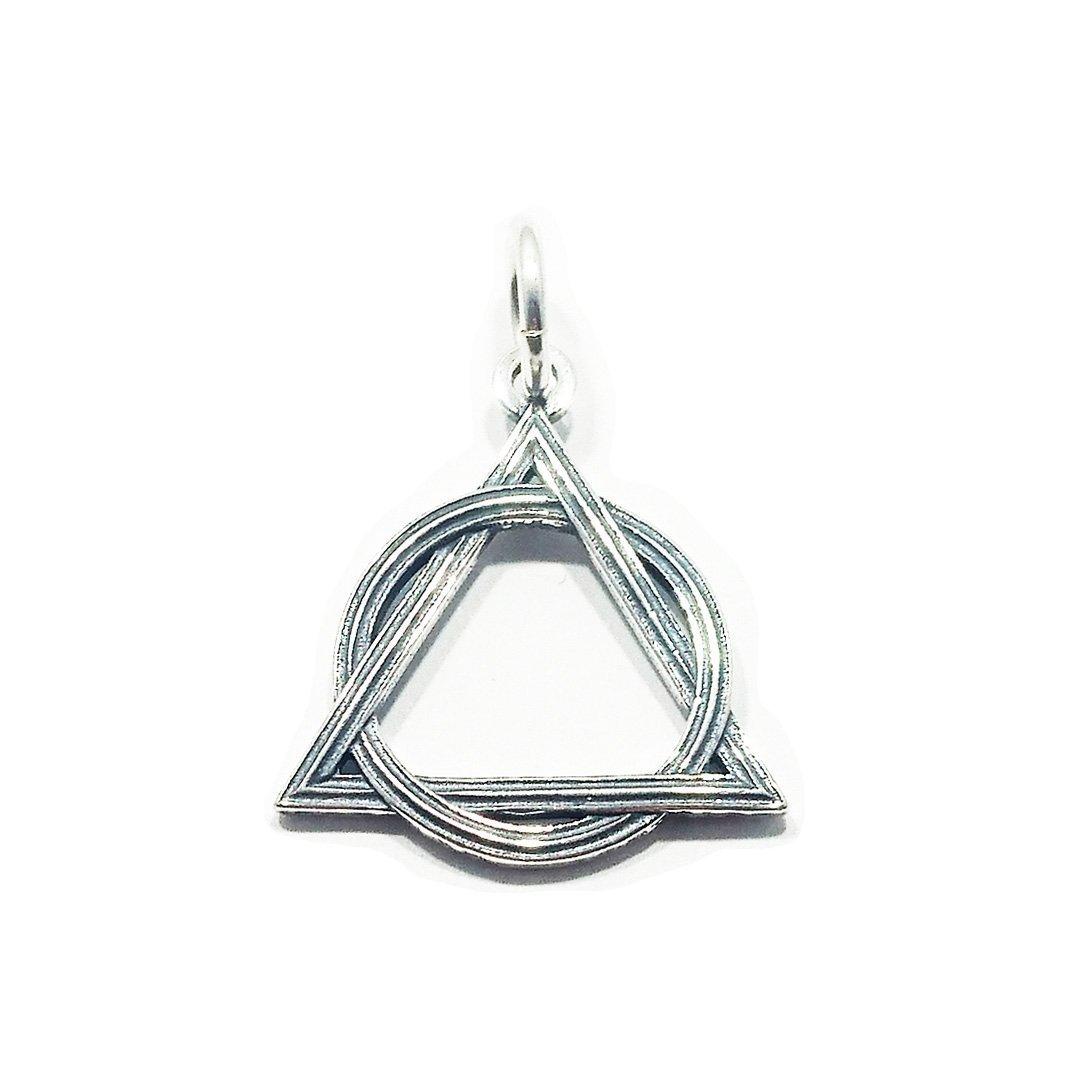 Weave AA Symbol – Large Charm/Pendant