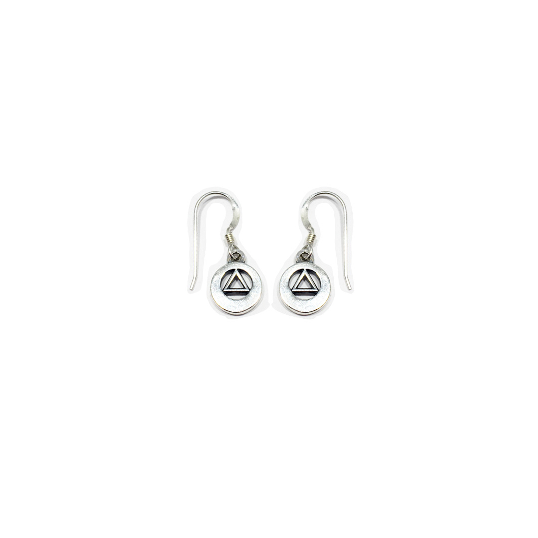 AA Symbol Plain Earrings