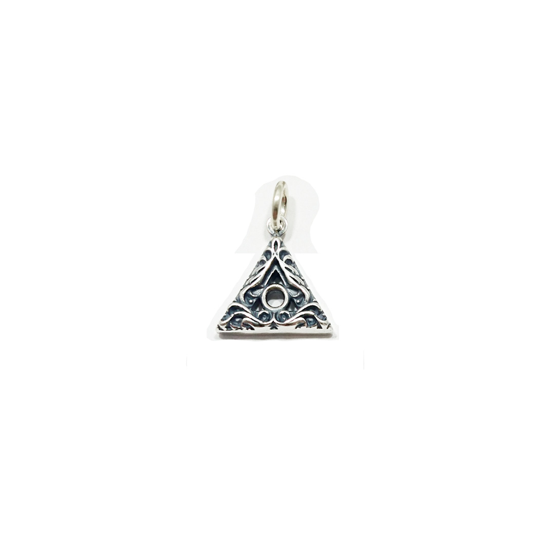 Small Scroll Family Recovery Symbol Charm/Pendant