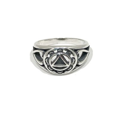 New Dainty Scroll Ring